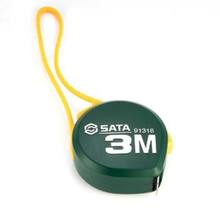 SATA 世达 水滴系列 91318 卷尺 3m
