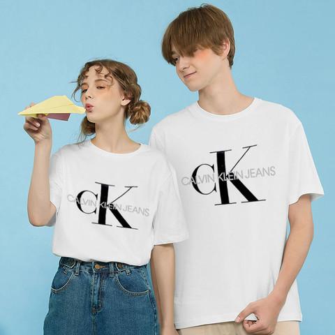 Calvin Klein 卡尔文·克莱 【硬核专享】Calvin Klein  Jeans卡文克莱 男士短袖 胸前ck大logo短袖T恤41VM883保税仓发货
