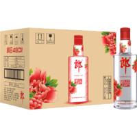 LANGJIU 郎酒 顺品480 红顺 42%vol 兼香型白酒 480ml*12瓶 整箱装