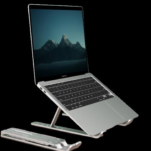 JRC 笔记本支架 电脑可调升降散热器 铝合金折叠便携立式支架 联想拯救者小新苹果Mac华为戴尔增高托架配件