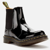 Dr.Martens 马汀博士 女士 2976 Patent Lamper 切尔西靴子-黑色