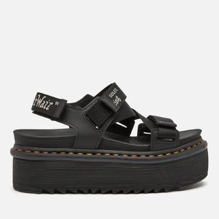 Dr.Martens 马汀博士  Kimber Quad 女士凉鞋-黑色
