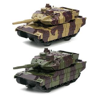 移动端 : 星卡比 Q版回力坦克车模型套装 2只装