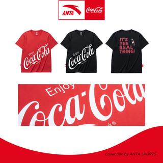 ANTA 安踏 #运动时尚国货新品#可口可乐联名 952129142 男款运动T恤