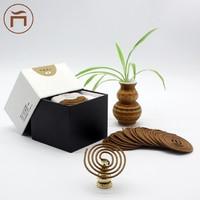 印度老山檀香盘香 盘香直径约50mm 20片(40盘)约39.5g/盒 果花香型
