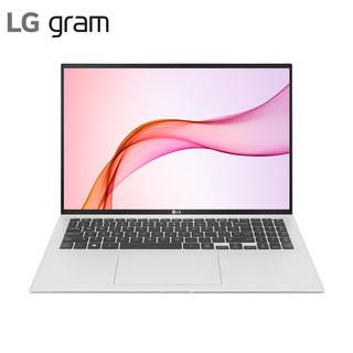 LG gram 2021款16英寸超轻薄窄边框16:10大画面 笔记本电脑 轻薄本(11代i5 16G 512G 2k屏 锐炬显卡 雷电4)银