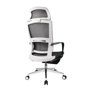 ZIZKAK 支家 B90 人体工学电脑椅 灰框色灰网