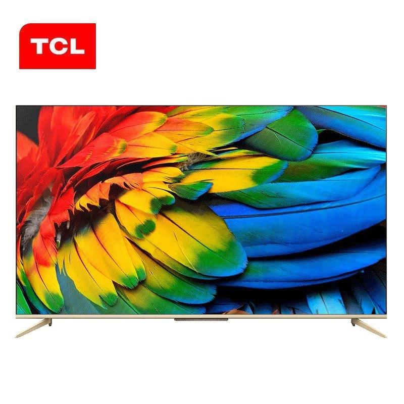 TCL 2020新款 D9系列 原色高色域4K超高清HDR全面屏防蓝光免唤醒远场语音无线网络液晶电视 55D9