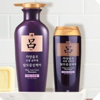 Ryo 吕 紫吕滋养韧发密集强韧洗发水 油性发质 400ml+180ml