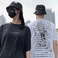 PEACEBIRD MEN 太平鸟风尚男装 Rick&Morty联名 B2DAB2190 男士t恤