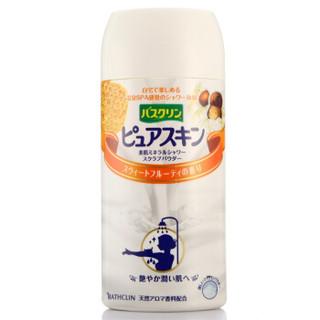 京东PLUS会员 : Bathclin 巴斯克林 美肌淋浴盐(果香型)420g