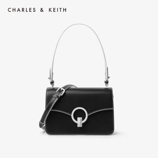 CHARLES & KEITH CK2-20701016-1 女士单肩包 (黑色)