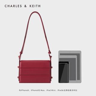 CHARLES & KEITH CK2-50781306 女士单肩包 (红色)