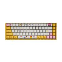 PLUS会员:Akko 艾酷 3068 无线机械键盘 哆啦美配色 68键 粉轴