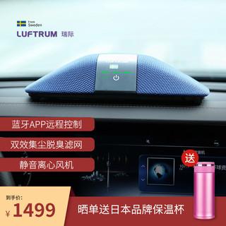 LUFTRUM  瑞际 车载空气净化器氧吧车家两用桌面除甲醛PM2.5 C401AB
