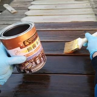 防腐木油木器漆木蜡油 透明色 2.5L