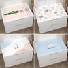 浪漫满屋 床头柜桌布网红防滑防水卧室软玻璃防尘罩pvc垫子滚筒洗衣机盖布