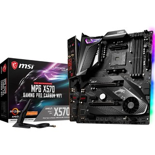 MSI 微星 MPG X570 GAMING PRO CARBON WIFI ATX主板(AMD AM4、X570)