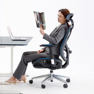 UE 永艺 1084E 人体工学电脑椅 铝合金脚