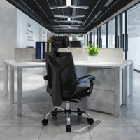 HBADA 黑白调 HDNY132 人体工学电脑椅