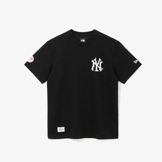 NEW ERA 纽亦华 男士MLB NY 洋基队马赛克拼图宽松T恤