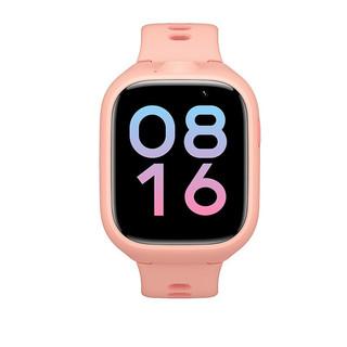 MI 小米 米兔儿童电话学习手表4X 4G全网通智能GPS定位男女孩视频通话拍照手机插卡防水手表 米兔儿童学习手表4X 粉色