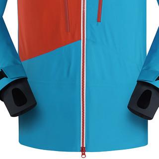 凯乐石 男款SKI-MONT登山滑雪冲锋衣 夏威夷蓝 L