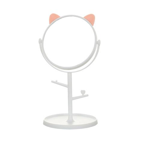 HOUYA 高清台式可旋转化妆镜子