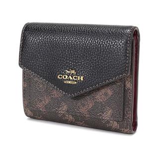 COACH 蔻驰 女士帆布短款钱包 C0047