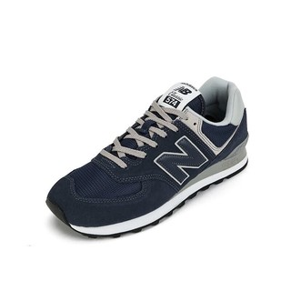 new balance New Balance NB官方中性款574系列ML574EGK休闲鞋深蓝色ML574EGN