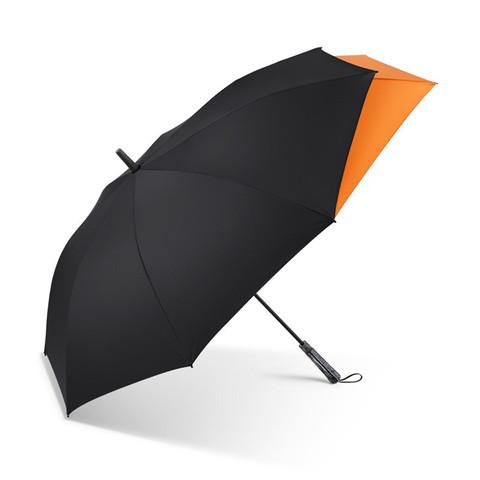 BANANA UNDER 蕉下 蕉下 半自动加固折叠抗风疏水雨伞男士高端商务雨伞直柄伞52cm*8骨 云碳黑