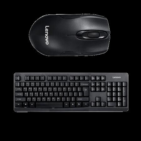 Lenovo 联想 KN101 无线键鼠套装 黑色