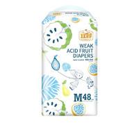 PLUS会员:宜婴 弱酸水果系列 婴儿纸尿裤 M48片