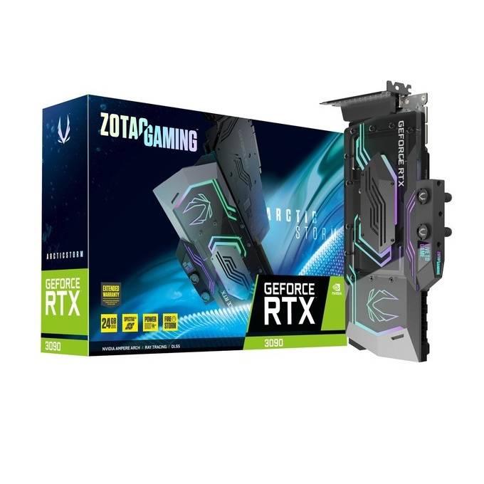 ZOTAC 索泰 ArcticStorm RTX 3090 显卡 24GB