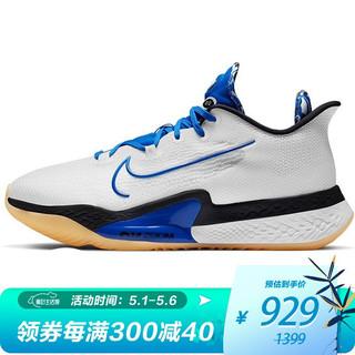 NIKE 耐克 耐克 NIKE 中性 篮球鞋 NIKE AIR ZOOM BB NXT EP 运动鞋 DB9991-100 白色 43码