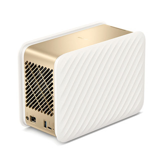 Lenovo 联想 个人云存储T2 私有云 双盘位 NAS存储(RTD1296、2GB、8TB*1)