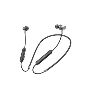 JIWU 苏宁极物 SA-S1 入耳式颈挂式降噪蓝牙耳机 黑色