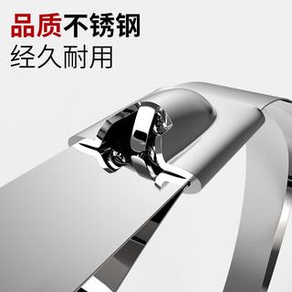 卡夫威尔 自锁式304不锈钢扎带 扎线 户外 耐腐蚀耐高低温扎带 4.6*100mm 20支装 OT3280