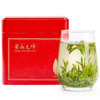 PLUS会员:绿满堂 黄山毛峰绿茶  2021新茶  125g罐装