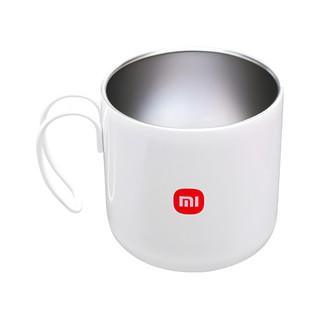 MI 小米 不锈钢马克杯 400ml 白色