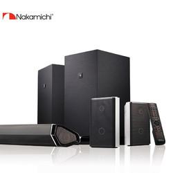 Nakamichi 那咔咪基 Nakamichi中道家庭影院套装条形音箱ELITE7.2.4声道杜比全景蓝牙低音炮回音壁电视音响 黑色