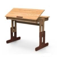 YESWOOD 源氏木语 Y16X01 纯实木多功能可升降学习桌 0.82m