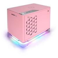 IN WIN 迎广 A1 Plus ARGB ITX机箱 半侧透 含电源 650W 粉色
