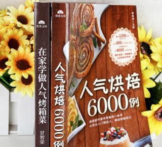 《烘焙6000例+在家学做烤箱菜》2册