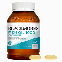 BLACKMORES 澳佳宝 深海鱼油软胶囊  400粒