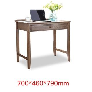 18日0点 : 治木工坊  B-SZ03A 美式黑胡桃色红橡木电脑桌 单抽款