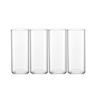 淘宝心选 玻璃水杯 330ml 4只装