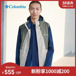 Columbia 哥伦比亚 户外20秋冬新品男子奥米防水冲锋衣机织外套RE0088