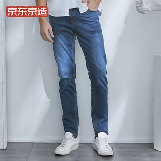 J.ZAO 京东京造 6941592718246 男士直筒牛仔裤