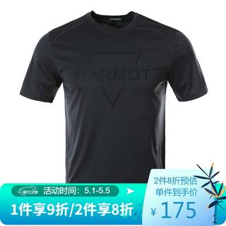 Marmot 土拨鼠 Marmot/土拨鼠新款运动轻量透气短袖速干T恤
